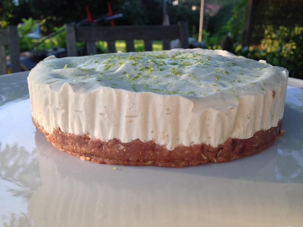 Glutenfri og mælkefri lemon cheese cake