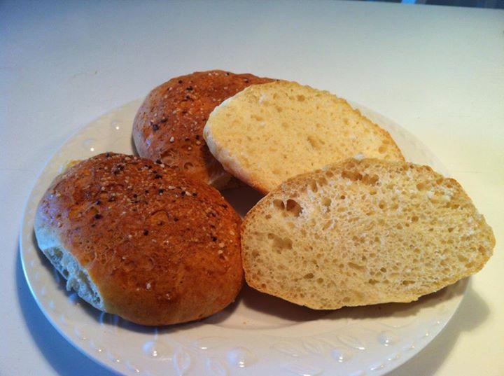Lækre glutenfrie sandwichboller