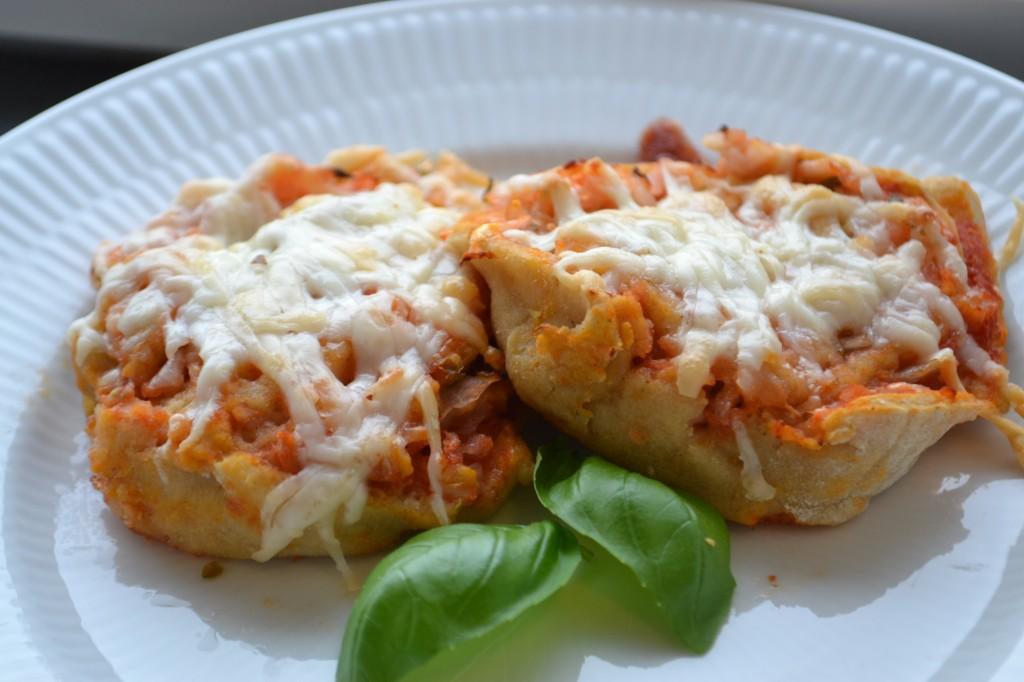 Lækre glutenfri pizzasnegle