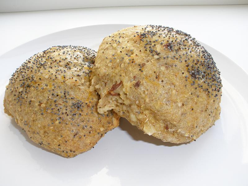 Glutenfri og mælkefri boller med mandler