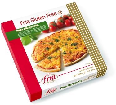 Glutenfri Pizza Margherita fra Fria (dybfrost)