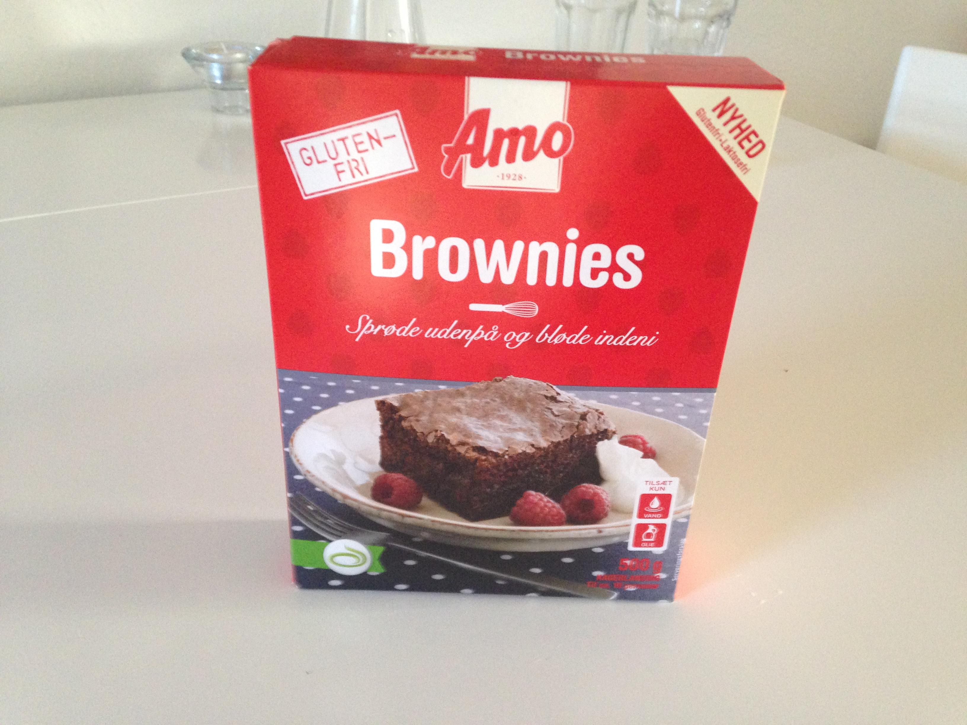 Amo Glutenfrie Brownies