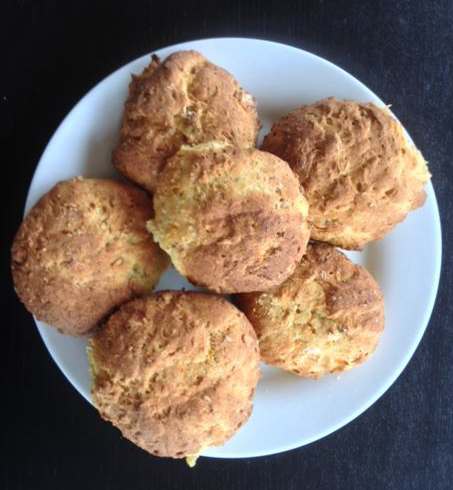 Glutenfrie solsikkekerneboller med chiafrø
