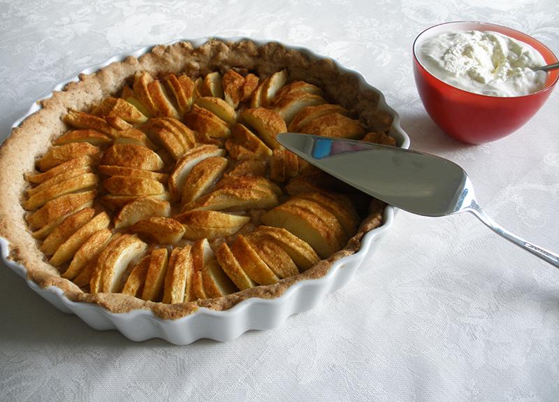 Glutenfri æbletærte | Glutenfri-Mad.dk