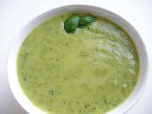 Glutenfri Grønærtesuppe