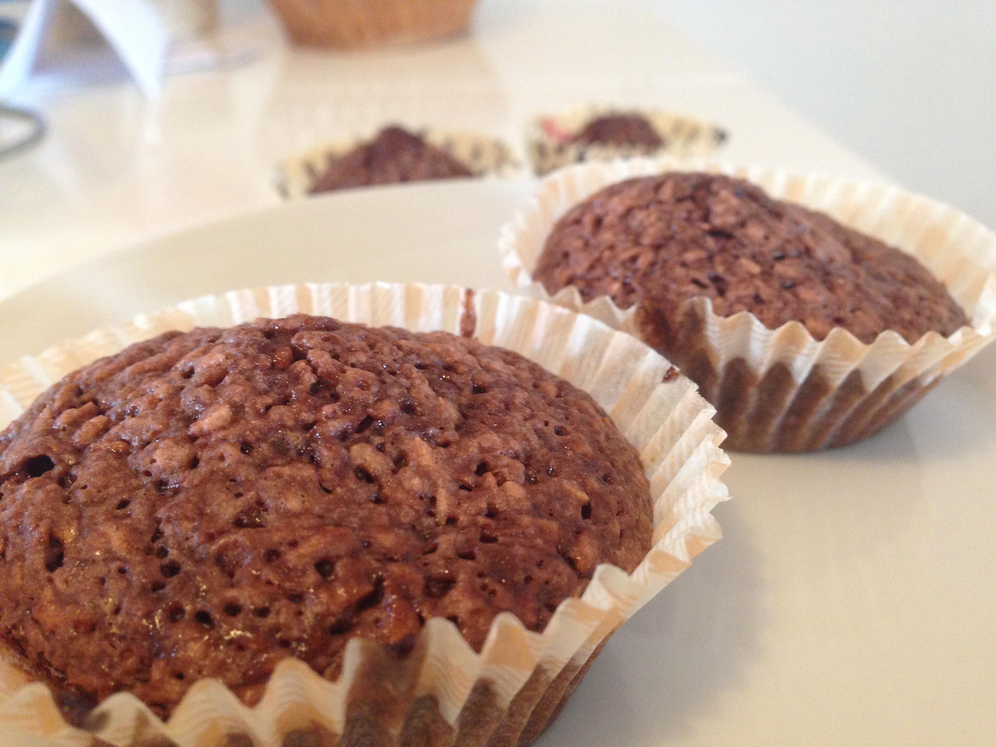 Glutenfrie kokos-chokolade muffins