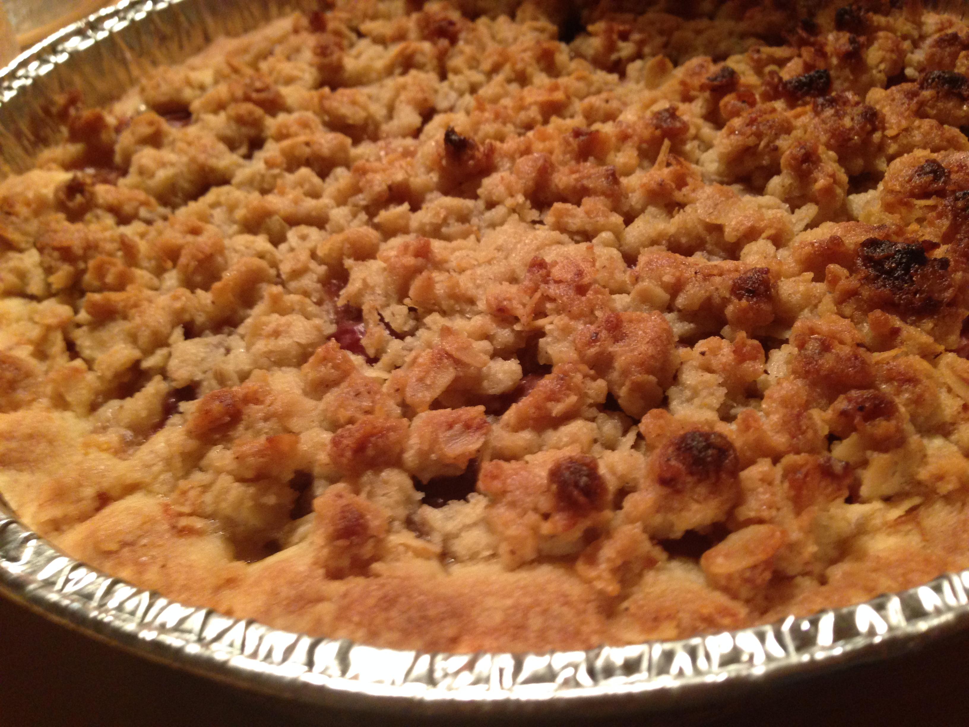 Glutenfri blommetærte
