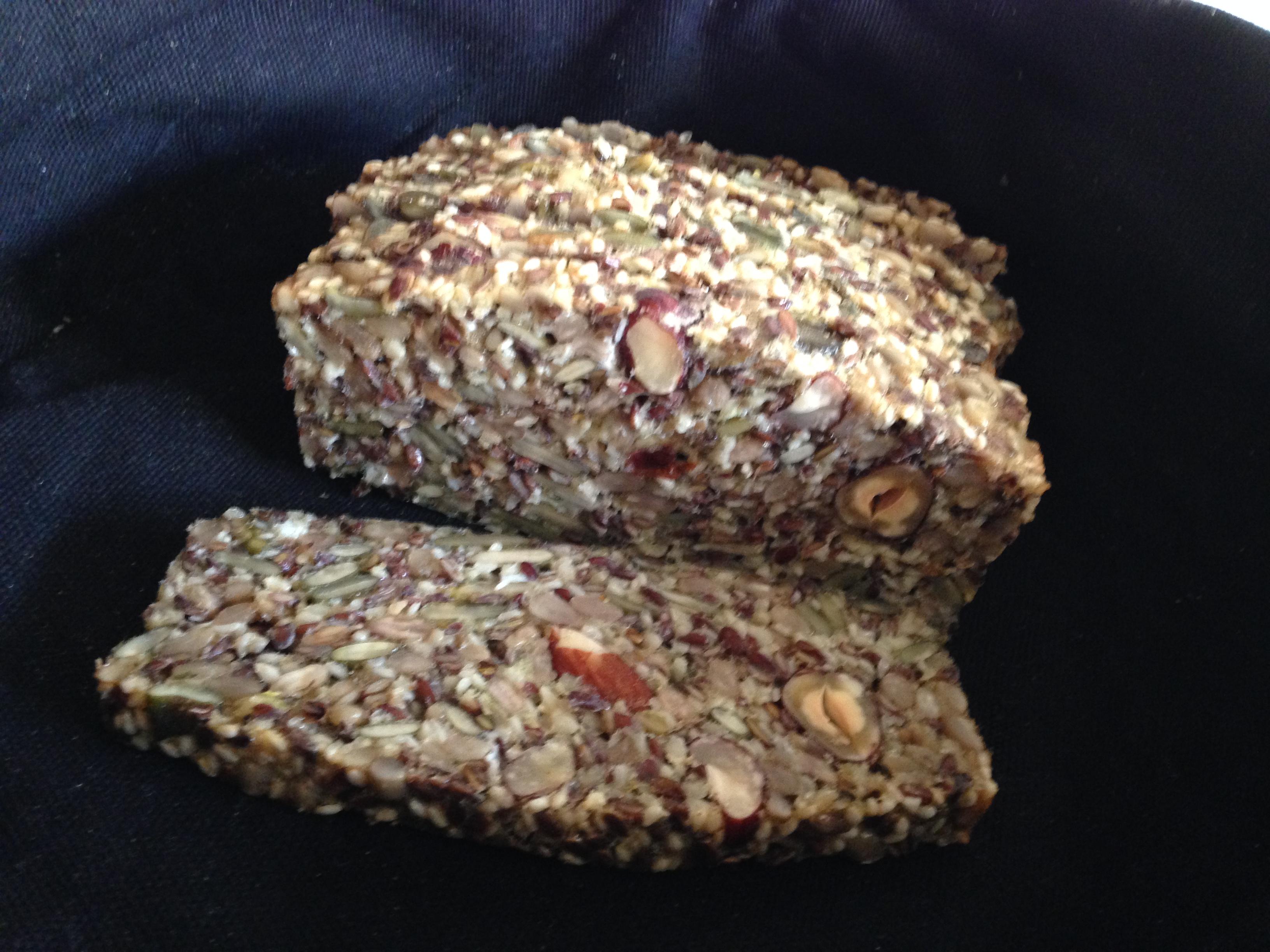Naturligt glutenfrit stenalderbrød