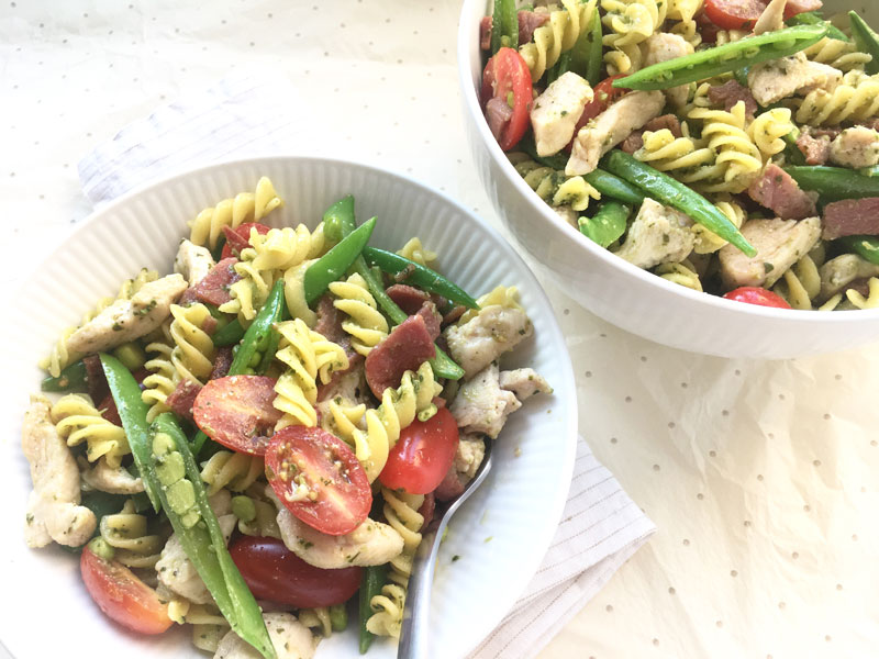 pastasalat uden gluten